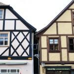 typische Fachwerkhäuser in der Altstadt